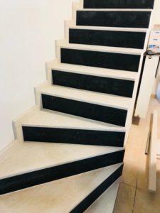 zwart-witte trap